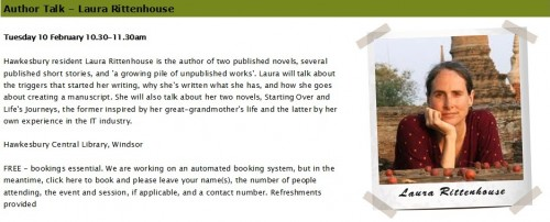 Author Talk 15 02 10