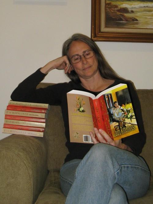 Laura reading