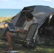 working in the outback