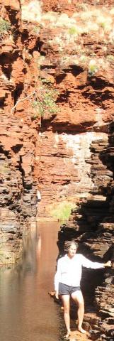 Laura canyoning